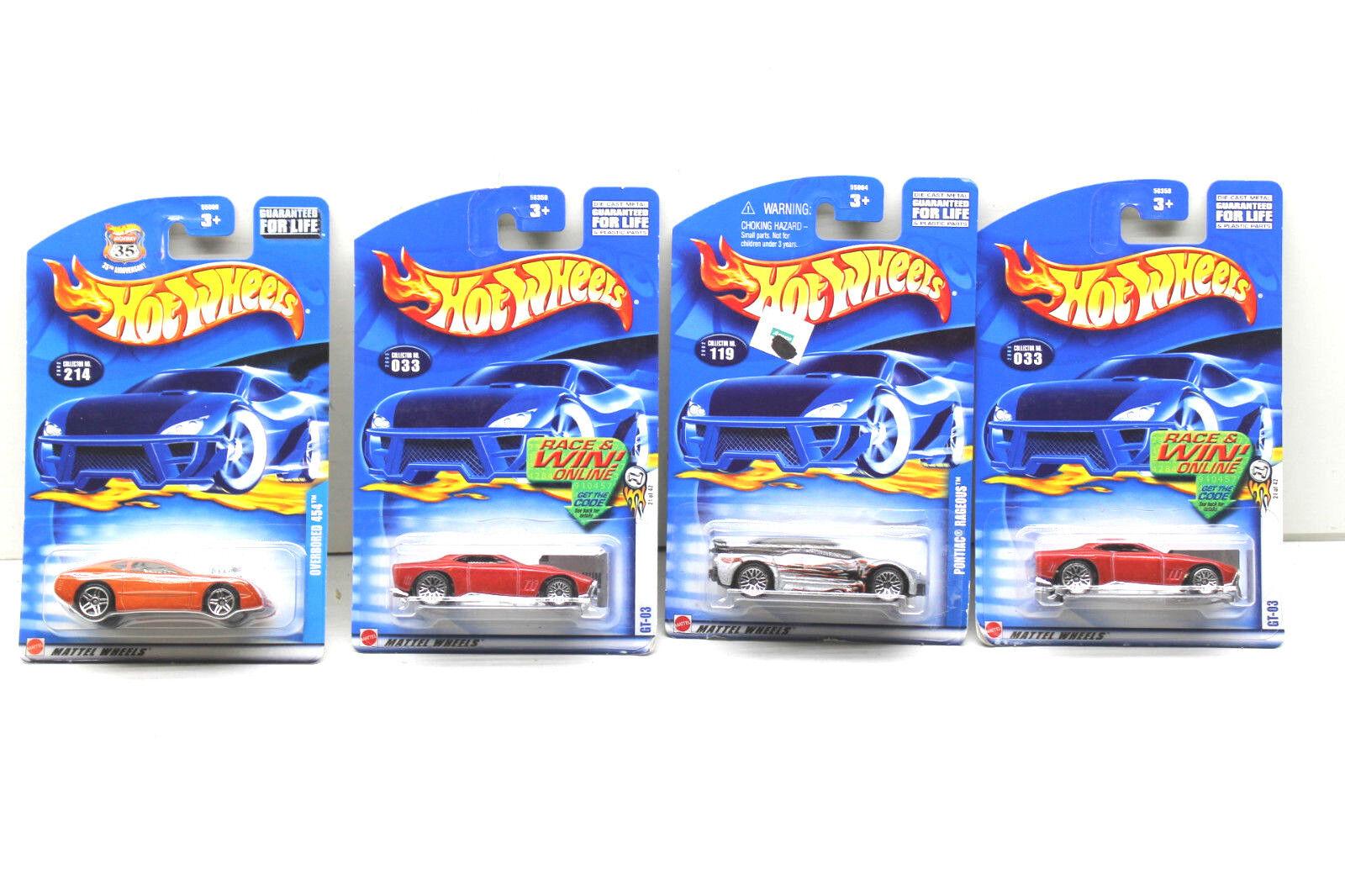 21 21 21 PC tono muscular Hot Wheels Pontiac + Die Cast Lote Coches 1997 - 2001 Mattel NOC 8c748a