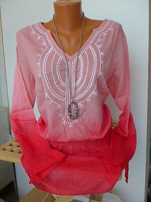 NEU My Style Bluse Tunika Gr 951 40-54 schöner Farbverlauf