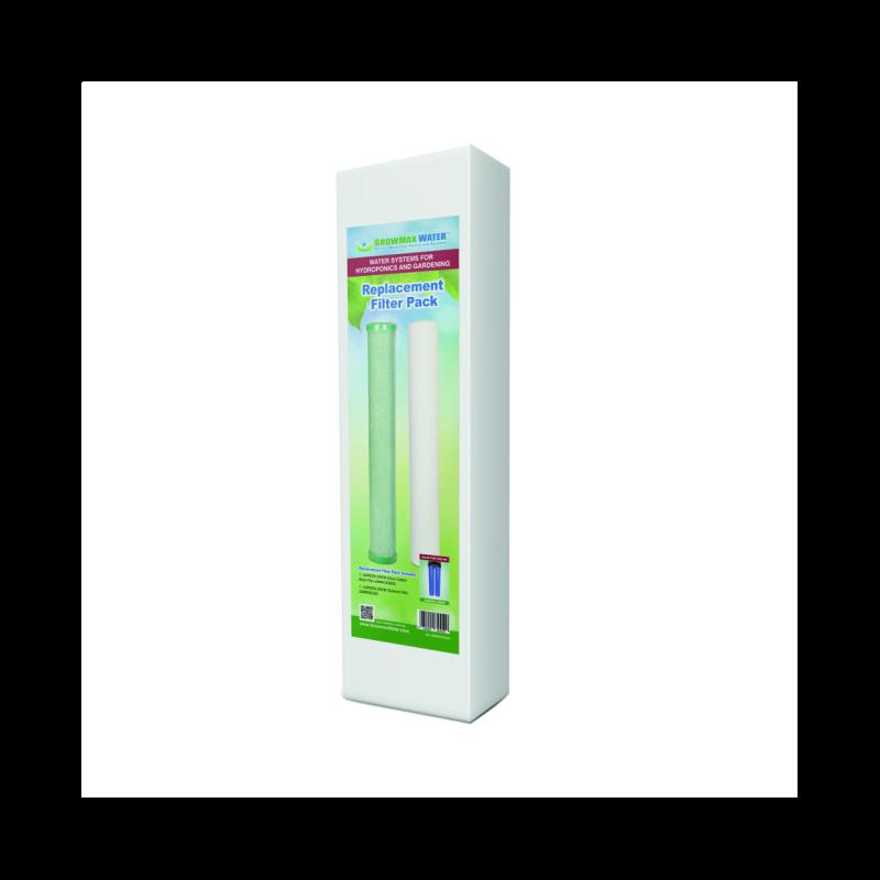 GrowMax Water Ersatzfilter - Paket Garden Grow Hydro Bewässerung Pflanzen
