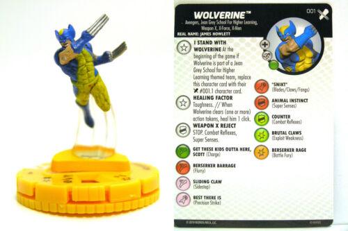 #001 Wolverine HeroClix X-Men Regenesis