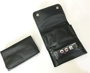 Premium-Tobacco-Pouch-PU-Leather-Fully-Lined-Rolling-Paper-Slot-Magnetic-Close