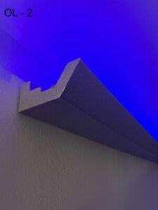 20 Meter LED Zierleiste Dekor Stuckleiste  für indirekte Beleuchtung XPS OL-47