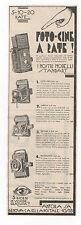 Pubblicità 1933 FOTH-FLEX JUBELLA BALDAX FOTO PHOTO advert werbung publicitè