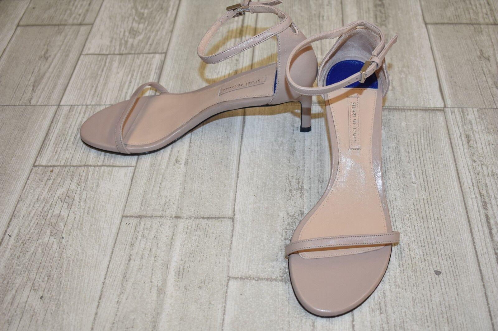 Stuart Weitzman 45 45 45 Nudist Traditional Sandals, Women's Size 7M, Latte Reims 13cb0b
