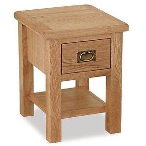 Lamp Solid Side Furniture Surrey Oak Light Honey Waxed Table 1 Drawer