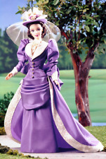 Mrs. PFE Albee Avon First Representative With Lavender Taffeta Hat Barbie Doll