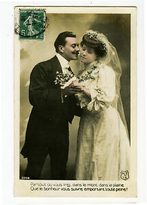 Baroque Delightful Vintage French Real Photo Postcard FRENCH GLAMOUR Old Fashioned Costumes Posted 1910