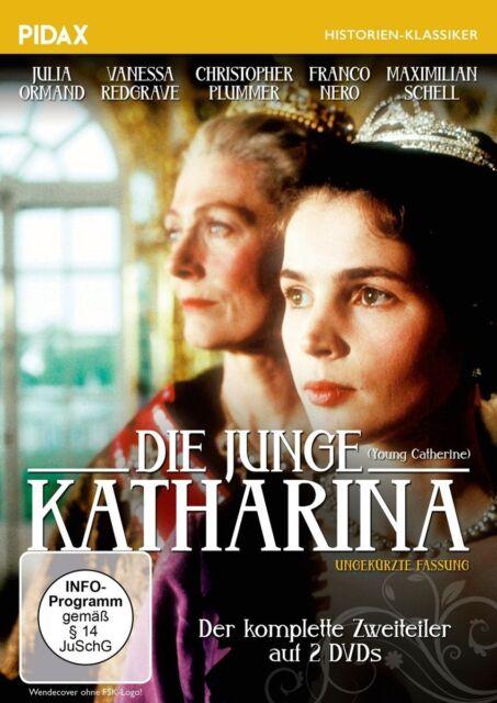 Die junge Katharina * DVD Zweiteiler Maximilian Schell, Franco Nero, Pidax Neu