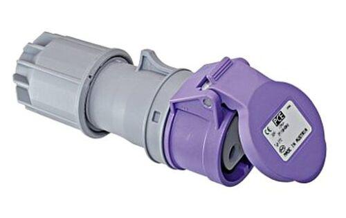 CEE-Kupplungssteckdose max.24V 32A 2-polig