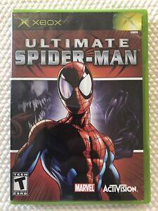 Ultimate-Spider-Man-Microsoft-Xbox-Complete-w-Case-amp-Manual