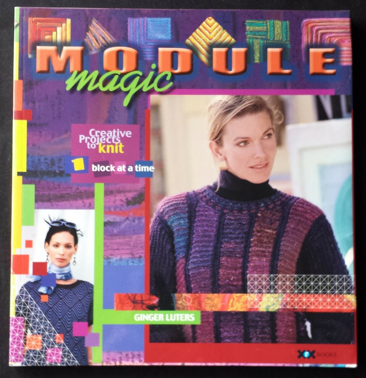 Creative Projects to Knit One Block at a Time Ginger Luters Module Magic