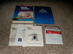 Think-Quick-Game-Apple-II-Series-IIc-IIe-IIGS-5-25-034-floppy-disk-with-box