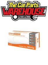 BOX of 100 SMALL Finite Orange HEAVY DUTY Nitrile Powder Free Disposable Gloves