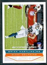 2013 Score #109 Brian Hartline Scorecard SP Parallel