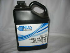 Miles Lubricants Sb Comp Oil Plus 46 Synthetic Blend Air Compressor 1 Gallon