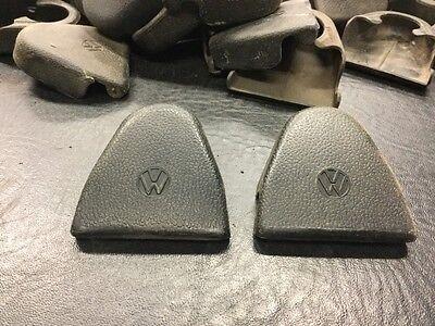 VW AirCooled Beetle Seat Belt Bolt Covers 68-79