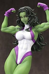 She-Hulk-Marvel-Comics-Bishoujo-Statue-Figure-240mm-Japan-KOTOBUKIYA