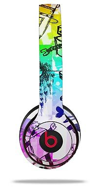 Skin Beats Solo 2 3 Scene Kid Sketches Rainbow Wireless Headphones Not Included Ebay