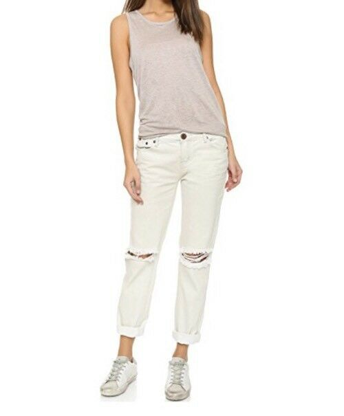 NWT Free People x One Teaspoon Awesome Baggies Destroyed Knees Jeans