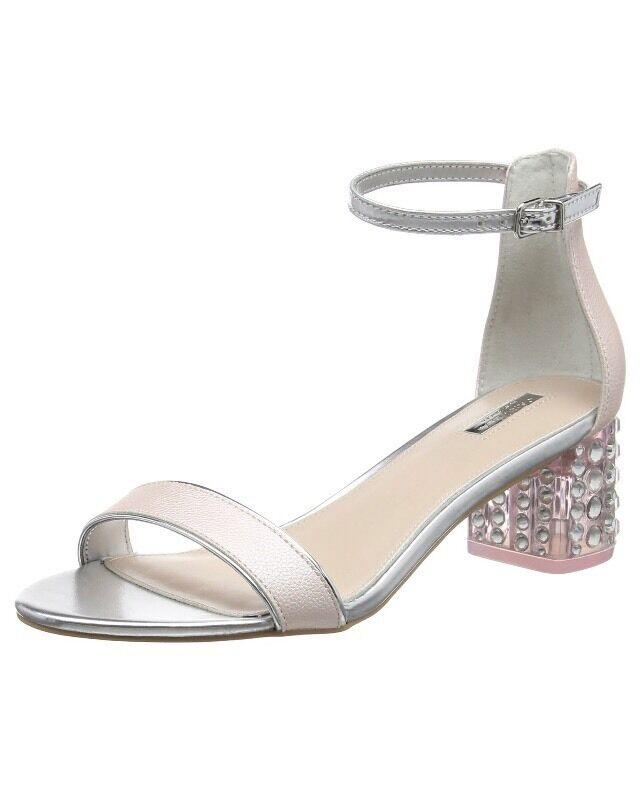 Carvela Pink), Groove, Damens'S Heels Sandales, Pink (Pale Pink), Carvela 4 UK (37 EU) 1efed9