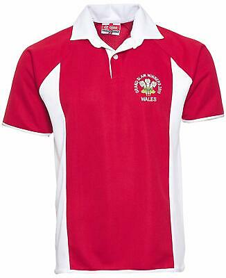 5XL BIG BLACK WALES GRAND SLAM 2012  WINNERS RUGBY STYLE SHIRT 6 NATIONS NEW S