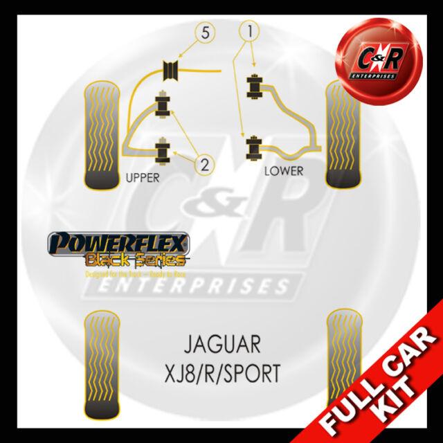 Jaguar XJ8 - R - Sport (97-03) Powerflex Black Complete Bush Kit