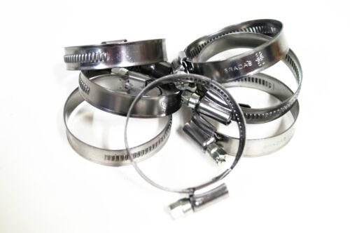Abrazadera de manguera 32-50 mm schlauchbinder manguera borna con atornillados