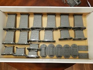MTH 40-1033 Elevated Trestle Set with Spare Lock On and Switch Motor