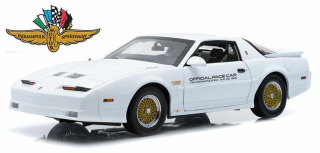 "GREENLIGHT 13074 1:64 1989 PONTIAC TURBO TRANS AM TTA /""INDY 500 PACE CAR/"""
