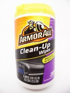 Armor All Clean-Up Wipes, 15ct, 17216 for Auto Interior Multi-Surface Cleaning