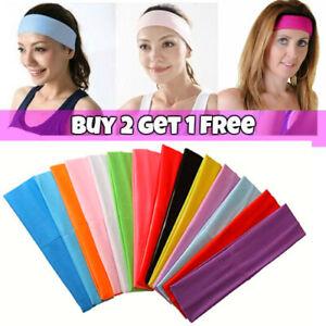 Stretch Hair Elastic Kylie Alice Yoga Headband Unisex Sports