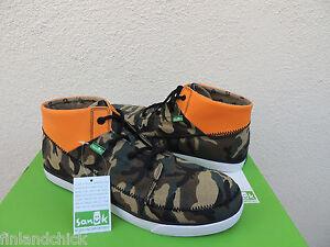 Hombre Highrise Camo / Orange Reflective Sneaker 9 D (M) gWouAPxk