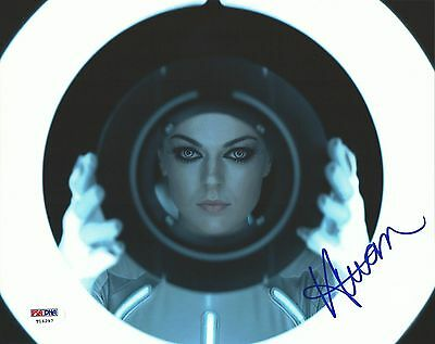 Serinda Swan Signed 8x10 Photo Picture PSA/DNA COA Autograph TRON: Legacy Girl