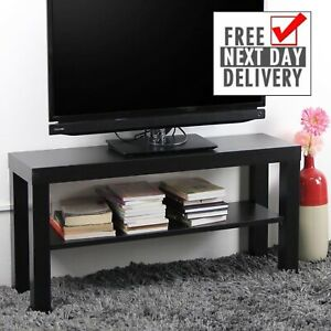 Ikea Lack Tv Bench Table Wood Stand Plasma Lcd Led Bed Sitting Room Black Ebay