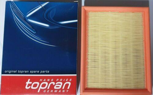 OPEL Opel Chevrolet Motor Filtro De Aire Elemento 5834037 TOPRAN 201652