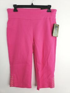 7a6809f8d91 ATTYRE NEW YORK WOMAN Women s Plus Size 8 White Cindy Skimmer Pant ...