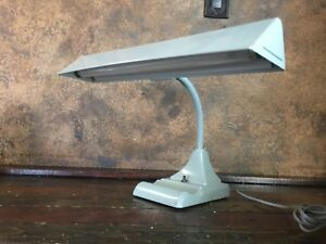 Details About 21474 Vintage Industrial Mid Century Desk Lamp / Drafting  Table Light   Nice