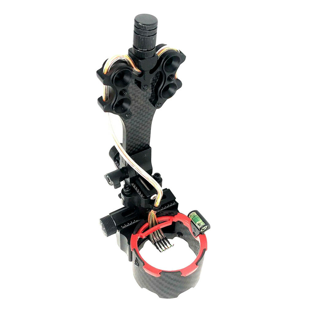 Precision Right Hand 5 Pin Compound Bow Sight Hunting Archery Accessories