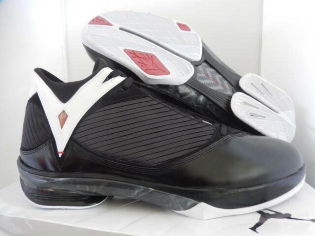 57da57322563f6 Nike Air Jordan 2009 Black-varsity Red-white Sz 17 RARE 343084-062 ...