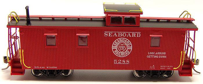 Seaboard Air Line  SAL-7 (S.FLA DIV) Wood Caboose RTR