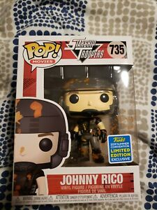 Vinyl SDCC 2019 Exclusive Figure Starship Troopers Johnny Rico Pop