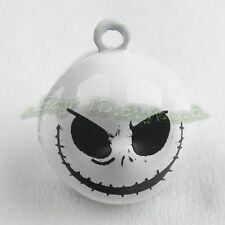 25x Wholesale Charms Skull Jingle Bells Fit Festival/Party Decorative 270061