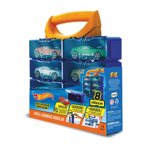 Hot Wheels hwcc 8a plástico display maleta para coches 8 escala 1:64 nuevo °