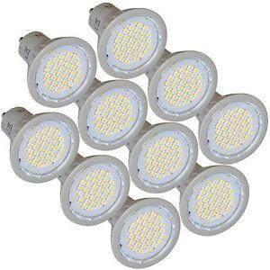 10-Energy-Saving-LED-GU10-3W-Light-Bulbs-4200K-Cool-White-Replaces-35W-Halogen