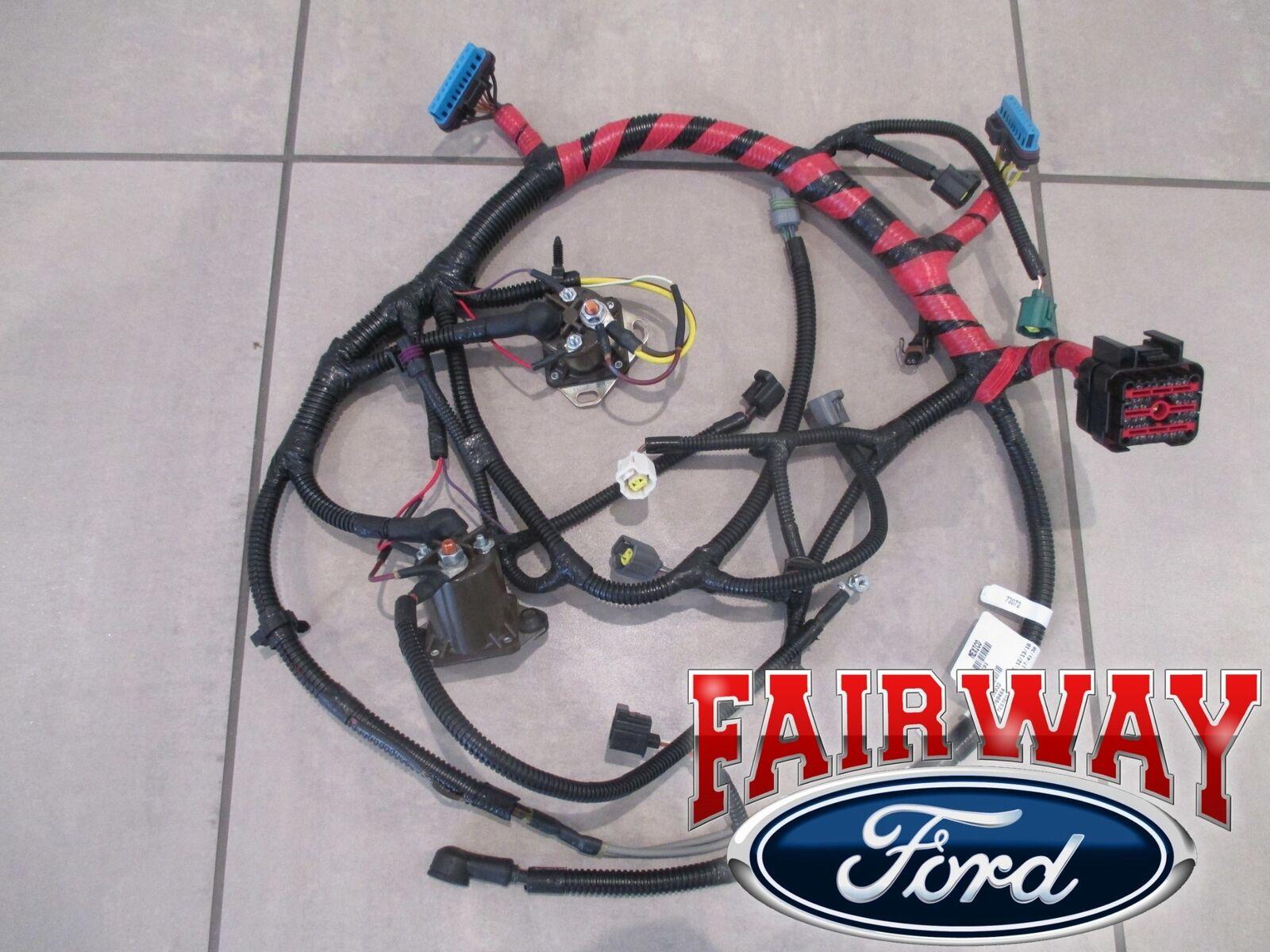 1998 super duty oem ford upper engine wiring harness 7.3l diesel for sale  online | ebay  ebay