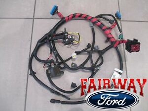 02-03 super duty oem ford engine wiring harness 7.3l diesel w/auto w/o  calif new | ebay  ebay