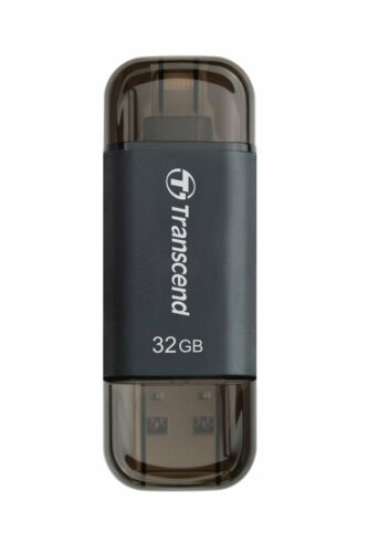 TRANSCEND JETDRIVE GO 300 LIGHTNING OTG 32GB USB 3.1 ON-THE-GO FLASH DRIVE st