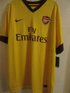 Arsenal-2010-2013-Away-Football-Shirt-Size-XXL-BNWT-8231