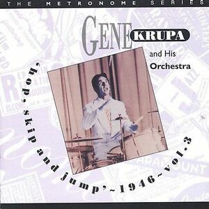 Hop-Skip-amp-Jump-1946-Vol-3-by-Gene-Krupa-CD-Nov-1996-Hep-UK