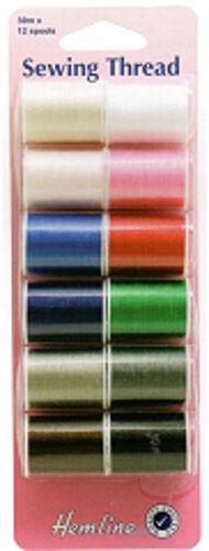 Hilo de coser 12 Varios Colores-h998